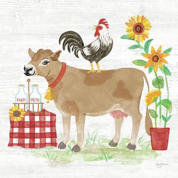 Wall Art - Painting - Farm Market II by Mary Urban