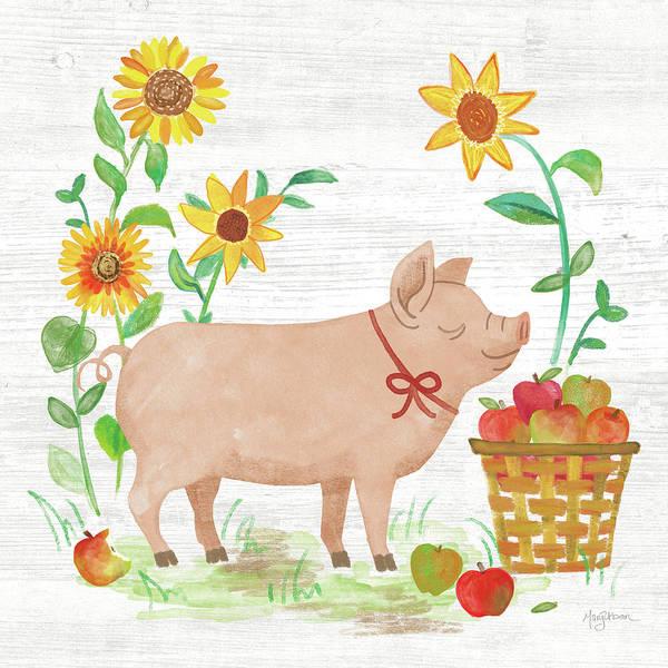 Wall Art - Painting - Farm Market Iv by Mary Urban