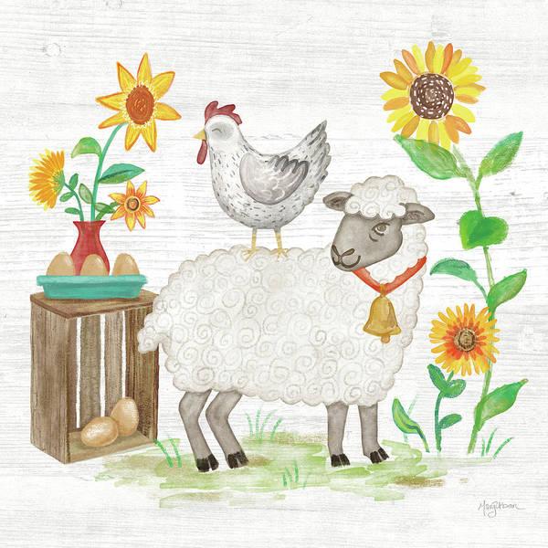 Wall Art - Painting - Farm Market V by Mary Urban