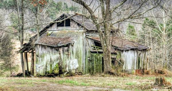 Sentimentality Photograph - Farm Outbuilding In Less Than Perfect Condition by Douglas Barnett