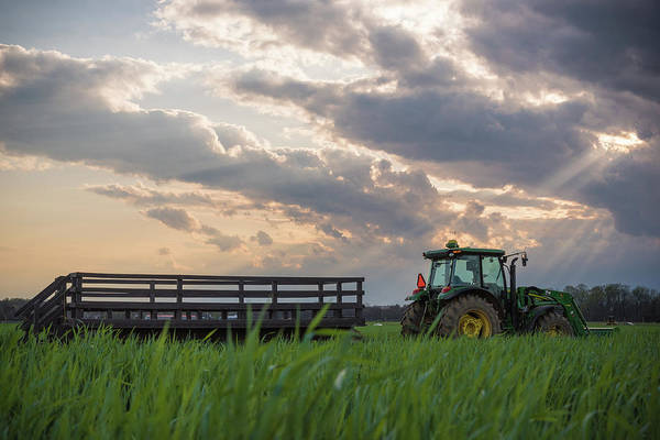 Photograph - Farm Ride by Kristopher Schoenleber