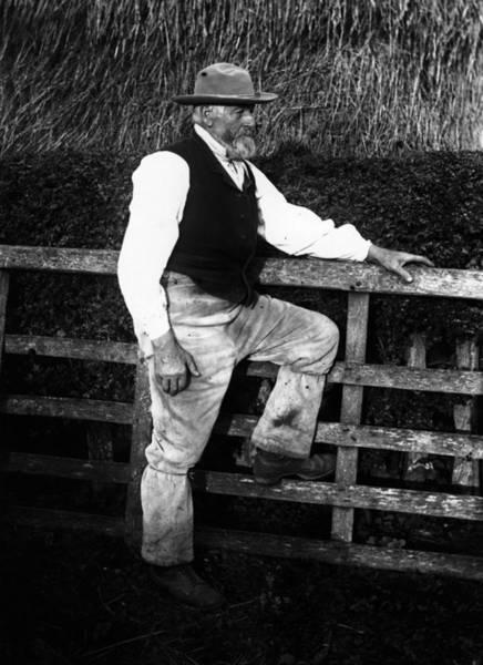 Farm Photograph - Farm Worker by F. J. Mortimer