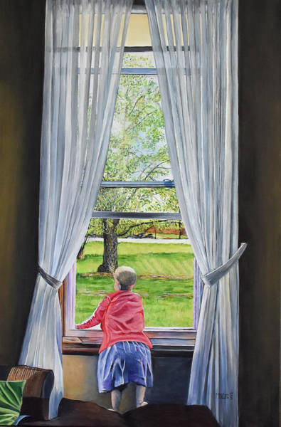 Painting - Farmers Daughter by Marilyn McNish