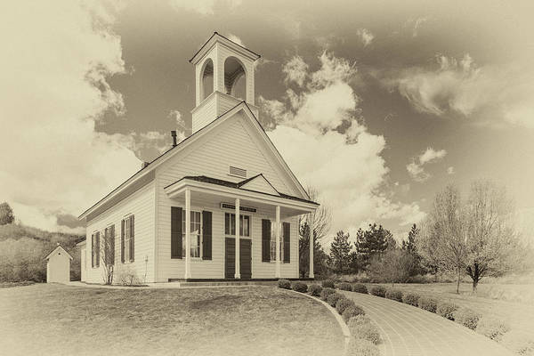 Wall Art - Photograph - Farmhouse Church by James Eddy