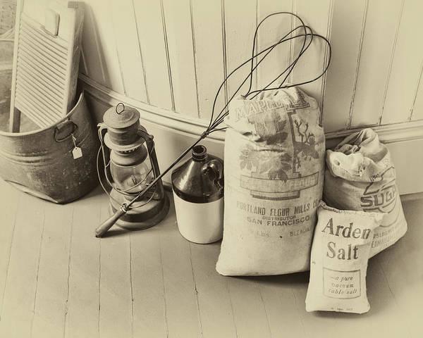 Photograph - Farmhouse Flour Salt And Sugar by James Eddy
