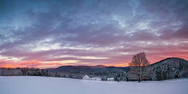 Photograph - Farmhouse Panorama by Darylann Leonard Photography