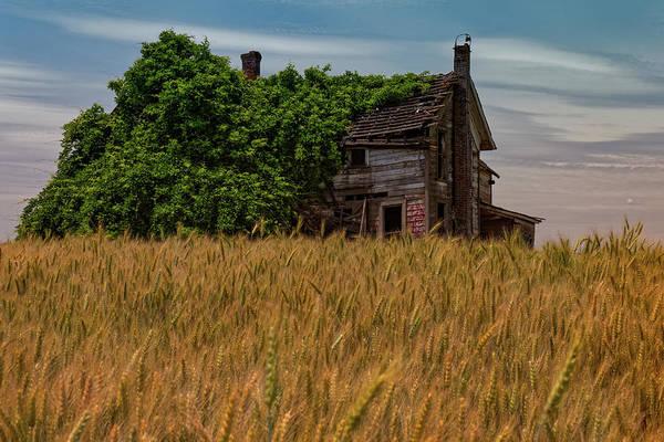 Photograph - Farmhouse by Thomas Hall