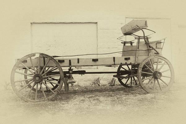 Photograph - Farmhouse Wagon by James Eddy