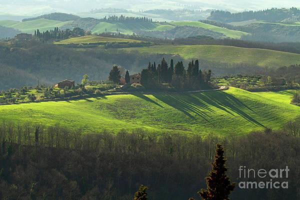 Photograph - Farmland In Le Crete Senesi, Tuscany-1 by Heiko Koehrer-Wagner