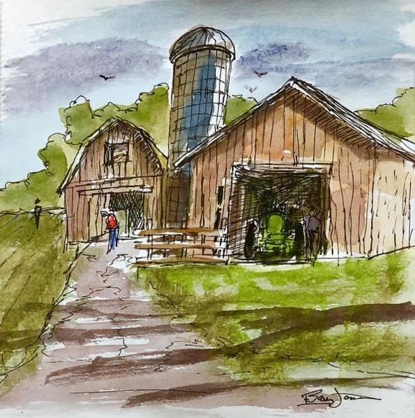 Painting - Farmland Rhapsody by Barry Jones
