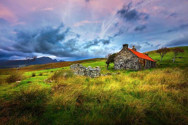Photograph - Farmlands In The Scottish Highlands by Debra and Dave Vanderlaan
