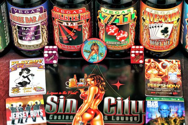 Photograph - Farrah Fawcett Playboy Poker Chip by John Rizzuto