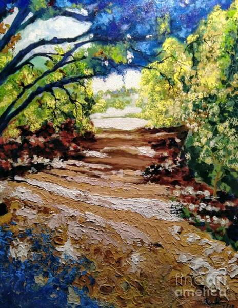 Painting - Fascinating Trail by Ray Khalife