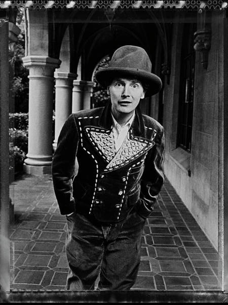Photograph - Fashion Designer Malcolm Mclaren by George Rose