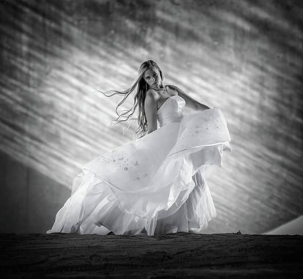 Wall Art - Photograph - Fashion Model Runway by Athena Mckinzie
