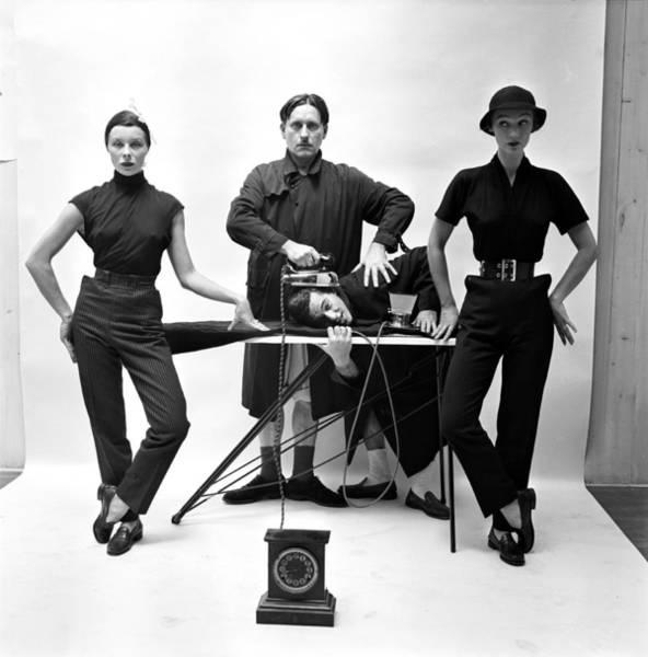 Photograph - Fashion Shoot by Gordon Parks