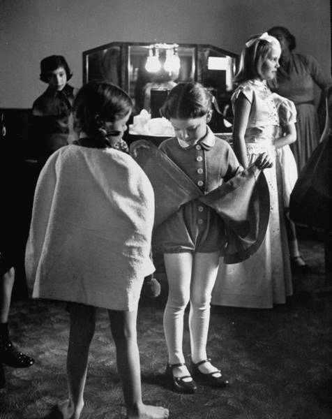 Photograph - Fashions Childrens by Nina Leen