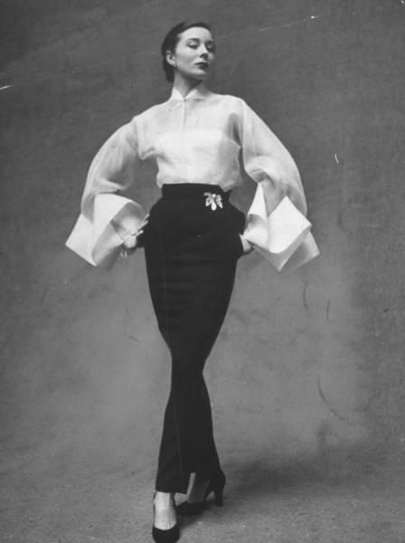 Photograph - Fashions Dresses by Gordon Parks