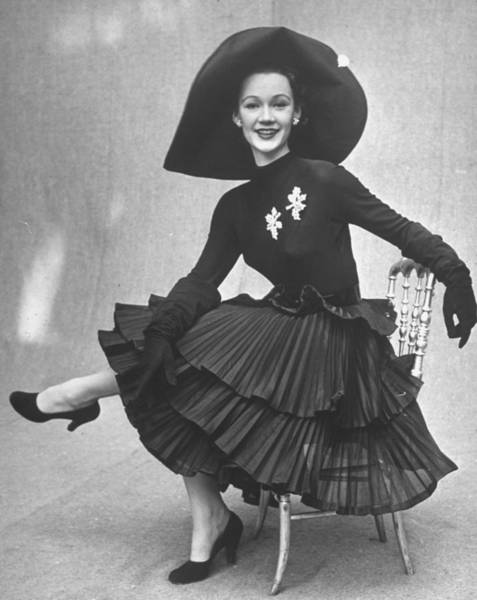 Photograph - Fashions French by Gordon Parks