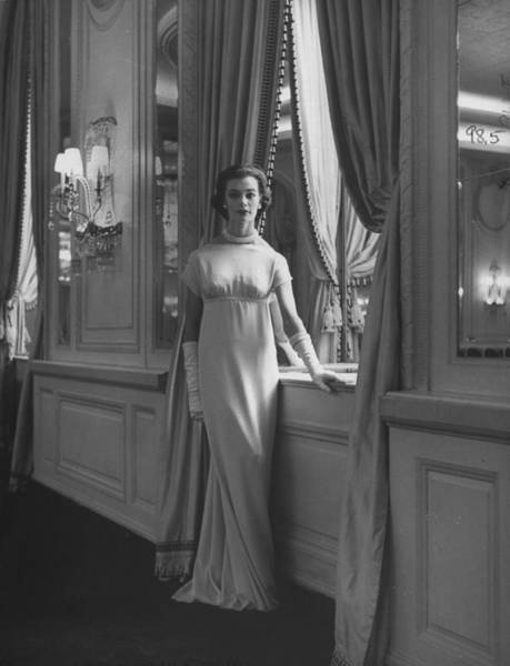 Photograph - Fasion By Charles James by Nina Leen