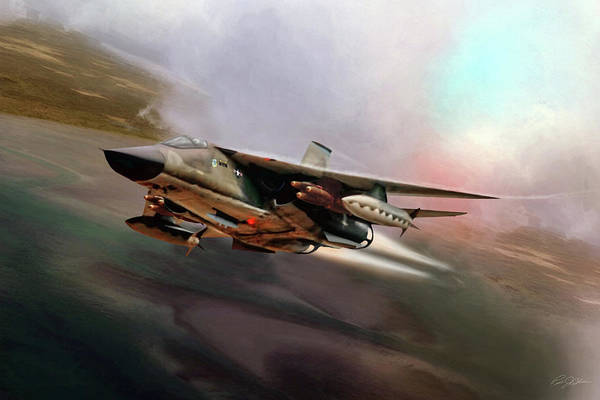 General Dynamics Digital Art - Fast And Furious by Peter Chilelli