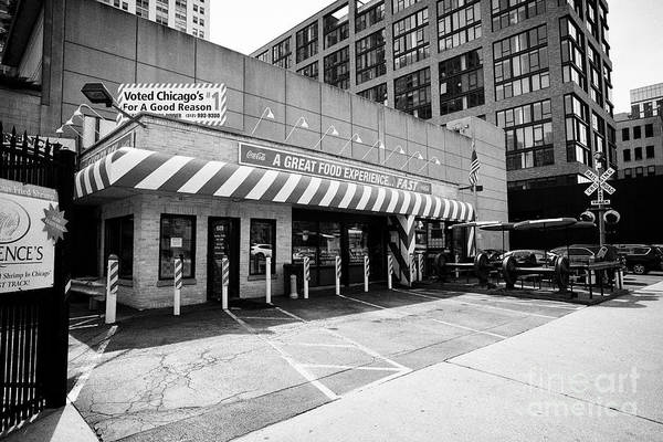 Wall Art - Photograph - Fast Track American Roadside Diner West Loop Chicago Il Usa by Joe Fox