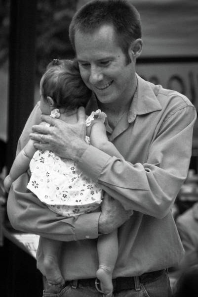 Photograph - Father And Daughter by Catherine Sobredo