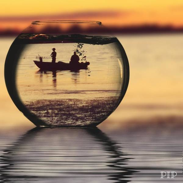 Wall Art - Photograph - Father And Son Fishing Lake Champlain Vt by Tina Daly