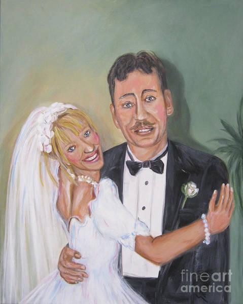 Painting - Father's Daughter by Oksana Semenchenko