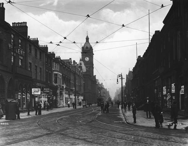Sunderland Wall Art - Photograph - Fawcett Street by London Stereoscopic Company