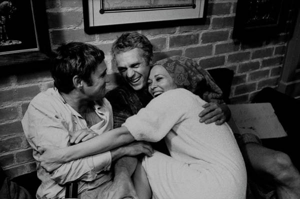 Photograph - Faye Dunawaynorman Jewisonsteve Mcqueen by Bill Ray