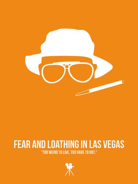 Wall Art - Digital Art - Fear And Loathing In Las Vegas by Naxart Studio