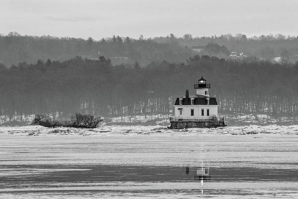 Photograph - February Morning At Esopus Light by Jeff Severson