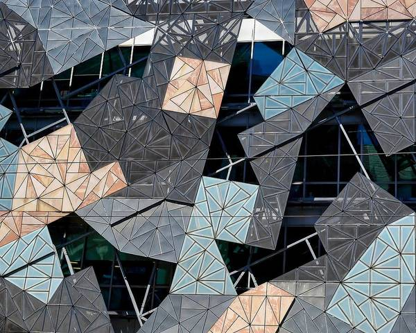 Photograph - Federation Square by KJ Swan