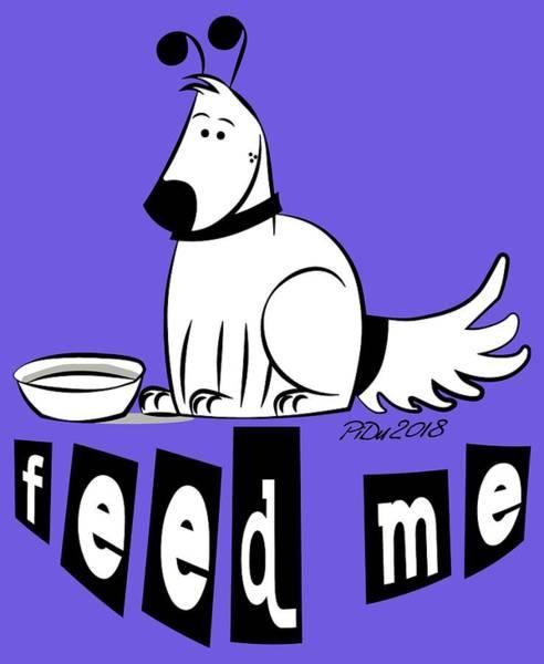 Digital Art - Feed Me by Piotr Dulski