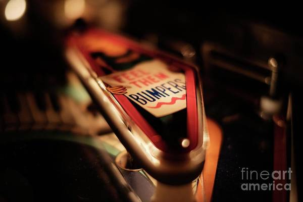 Photograph - Feel Them Bumpers Pinball by Thomas Millot