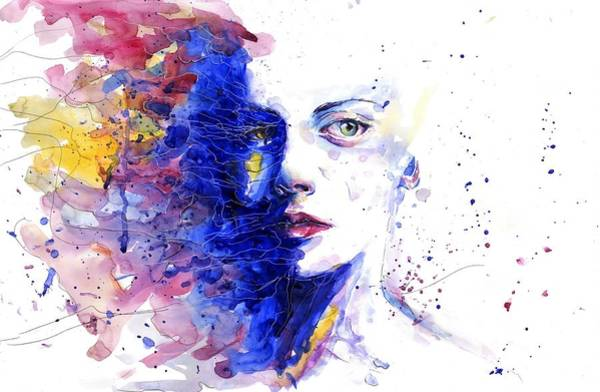 Abstract People Painting - Feeling by ArtMarketJapan