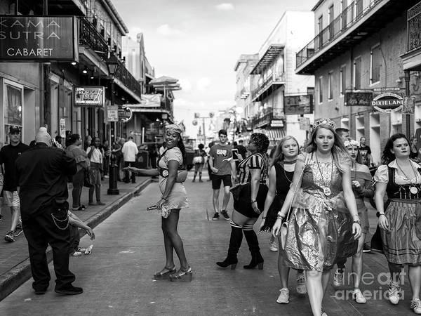 Photograph - Feeling Pretty On Bourbon Street New Orleans by John Rizzuto