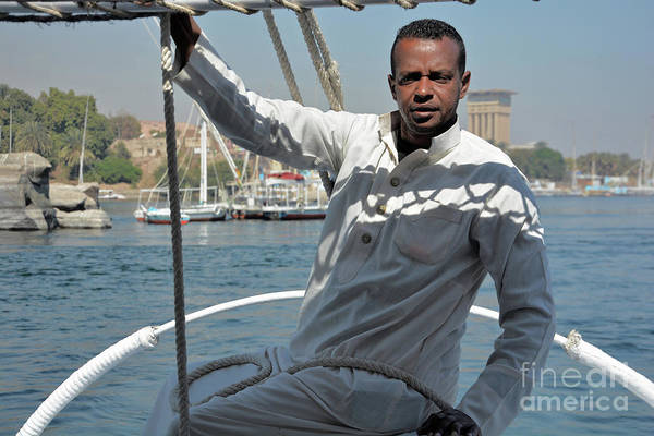 Wall Art - Photograph - Felucca Driver by Andrea Simon