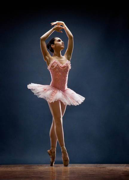 Human Body Photograph - Female Ballet Dancer Dancing by David Sacks