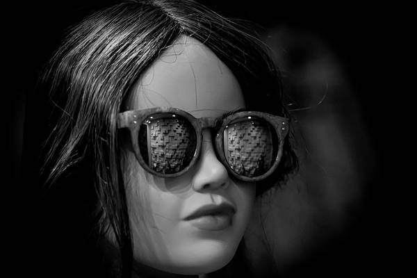 Photograph - Female Mannequin - Store Window by Robert Ullmann