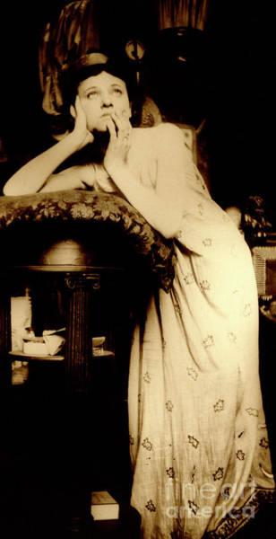 1899 Photograph - Female Model Wearing A Tiara, Paris, 1899  by Alphonse Marie Mucha