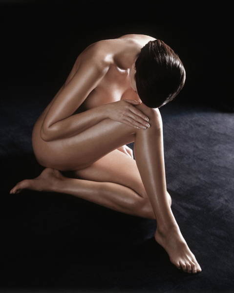 Naked Photograph - Female Nude by Frank P Wartenberg