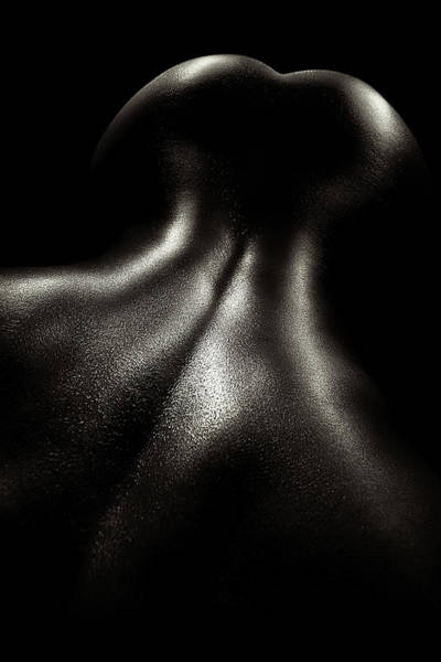 Muscular Wall Art - Photograph - Female Nude Oil 4 by Johan Swanepoel