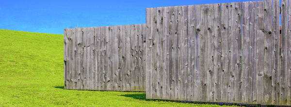 Wall Art - Photograph - Fence And Green by Hyuntae Kim