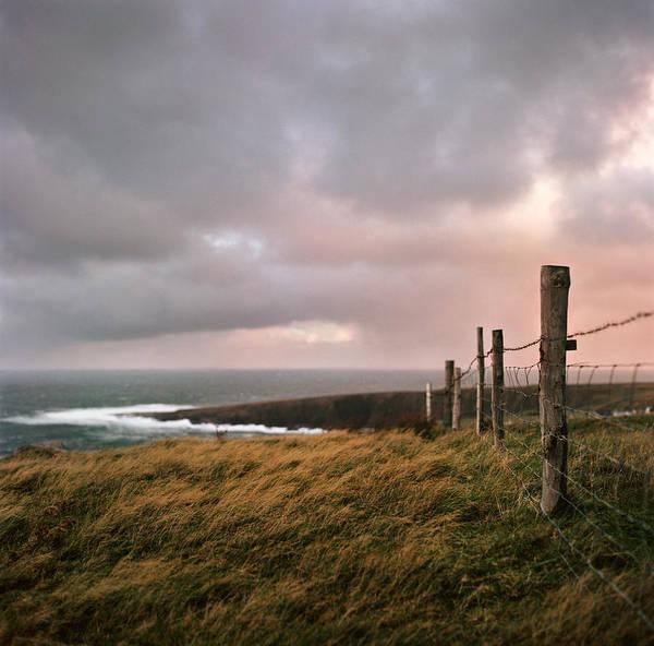 Fence Photograph - Fence In Ireland by Danielle D. Hughson