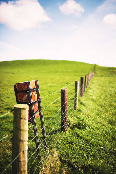 The Burren Photograph - Fences At Cliffs Of Moher by Licensed By Kelven Ng