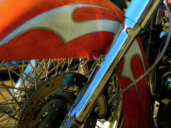 Photograph - Fender And Spokes 5838 Dp_2 by Steven Ward