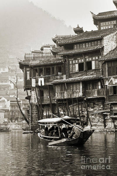 Wall Art - Photograph - Fenghuang, Phoenix Ancient Town by Delphimages Photo Creations