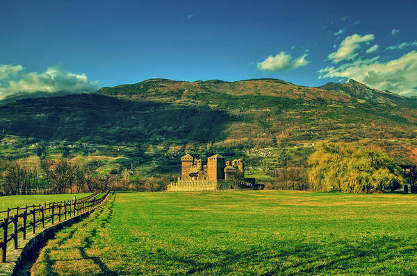 Wall Art - Photograph - Fenis Castle by Pixabay